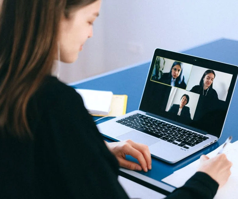 Online Marketing Academy - video conferencing