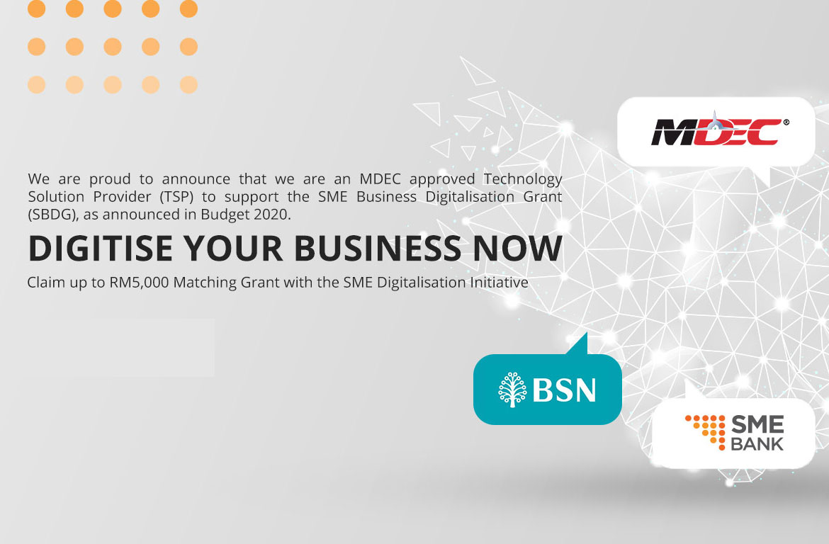 MDEC Approved Technology Solution Provider
