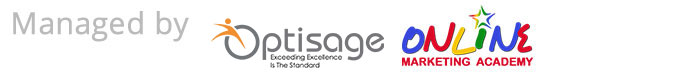 Managed By Certified Digital Marketing Agency - Optisage & Online Marketing Academy